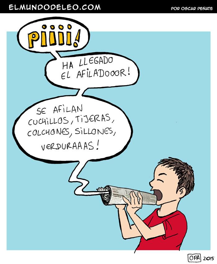 411: El Afilador