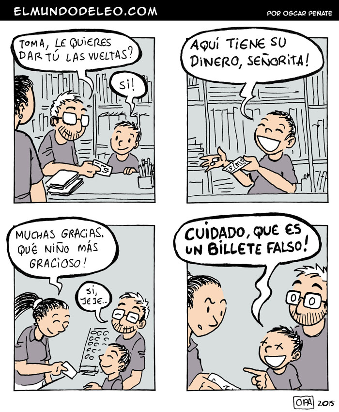 417: Billetes Falsos