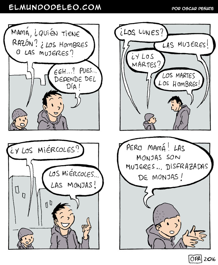 433: Las Monjas