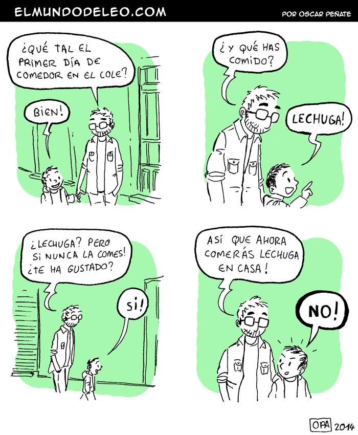 318: Lechuga de comedor.