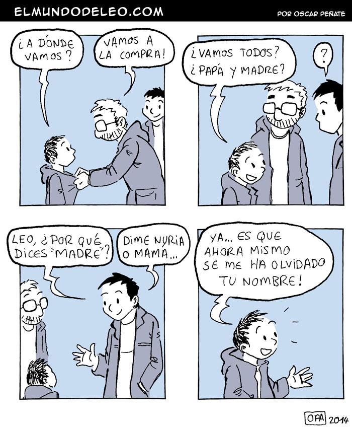 329: Papá y madre