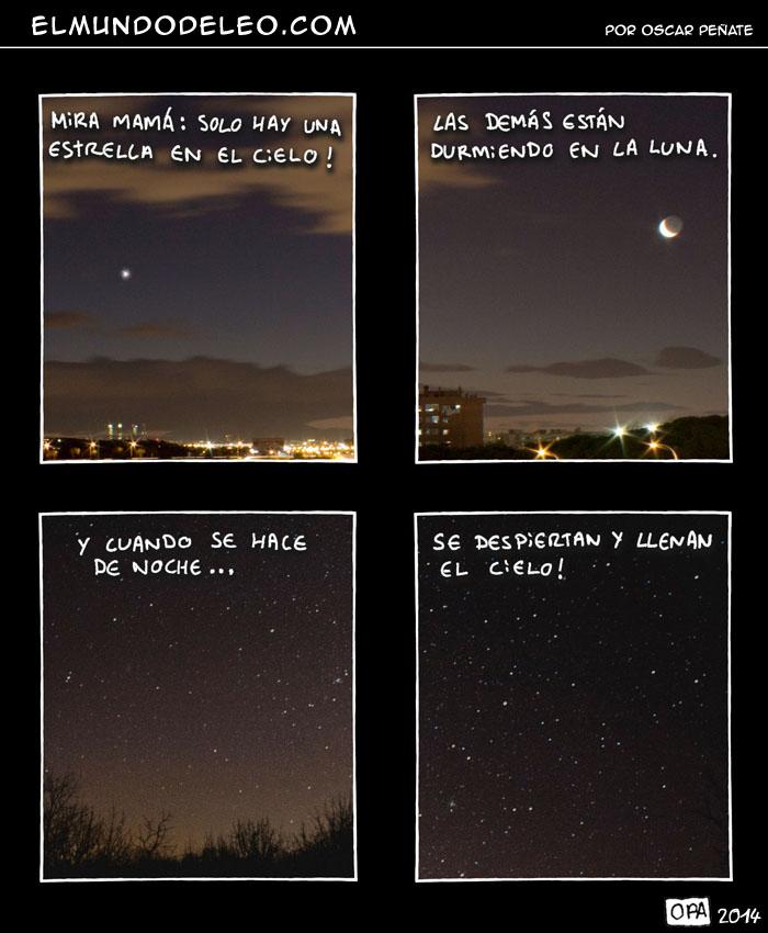 206: Estrellas en el cielo