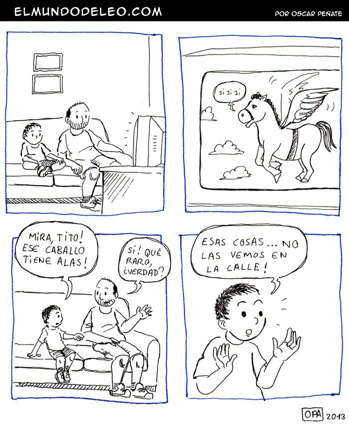 112: Caballos con alas