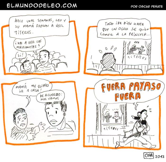 15: Fuera Payaso!