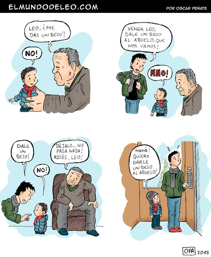 165: El beso del abuelo