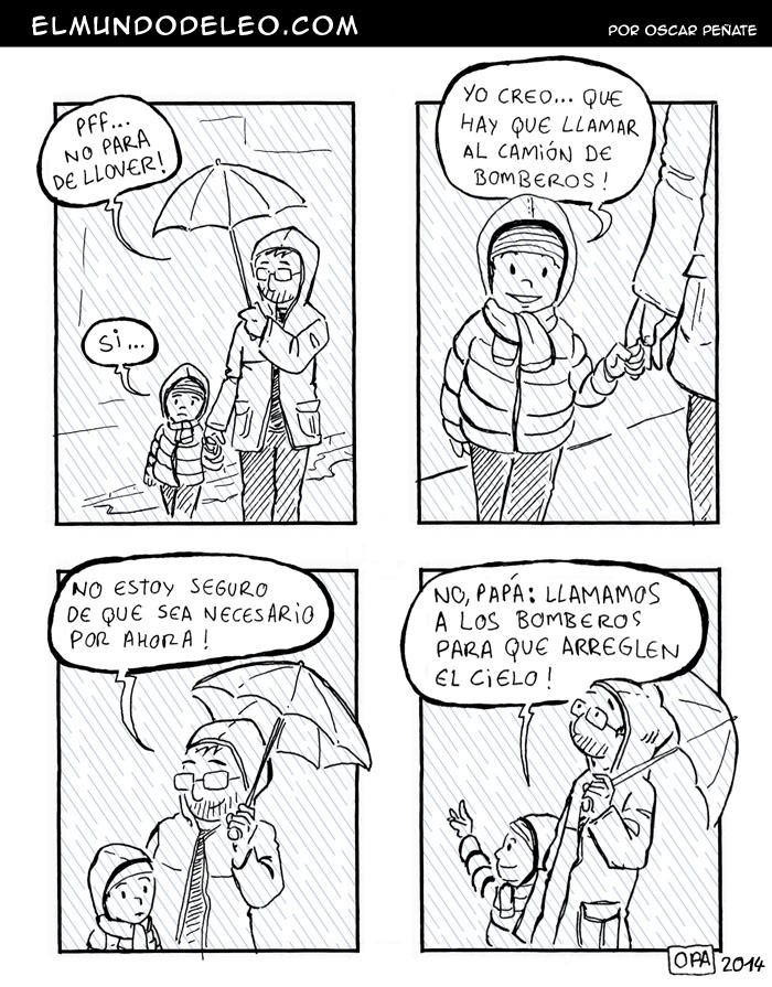 183: No para de llover