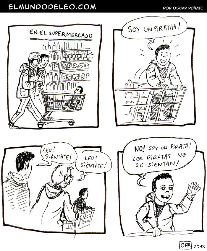 20: Pirata de supermercado