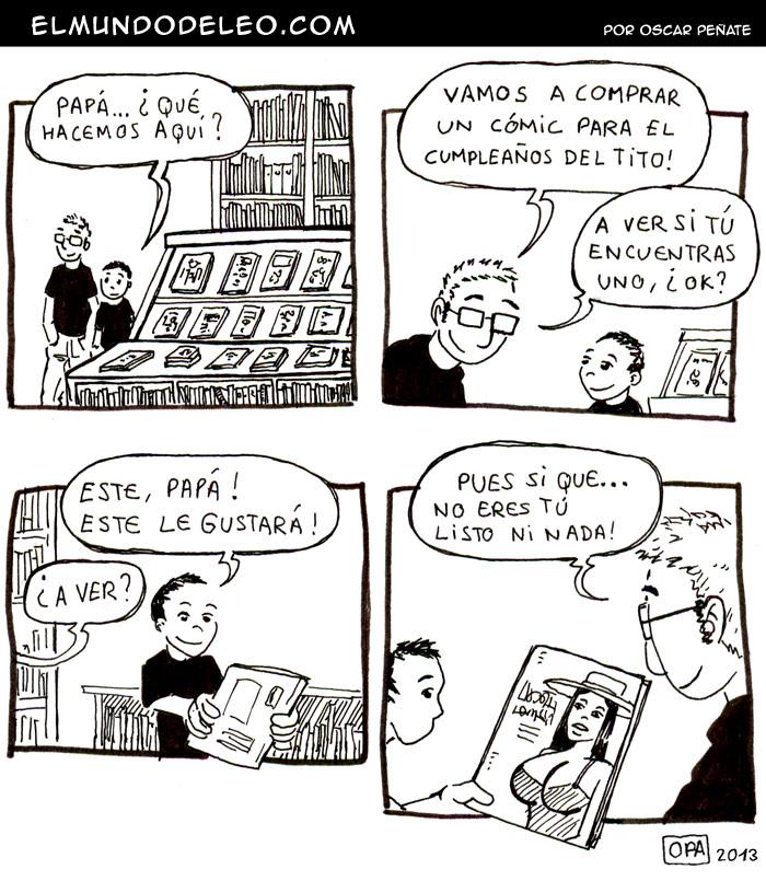 66: El cómic