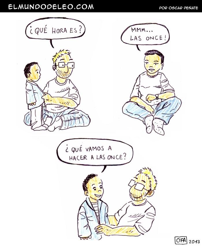 69: Las once