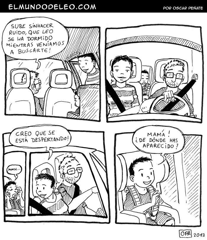 96: Durmiendo en el coche