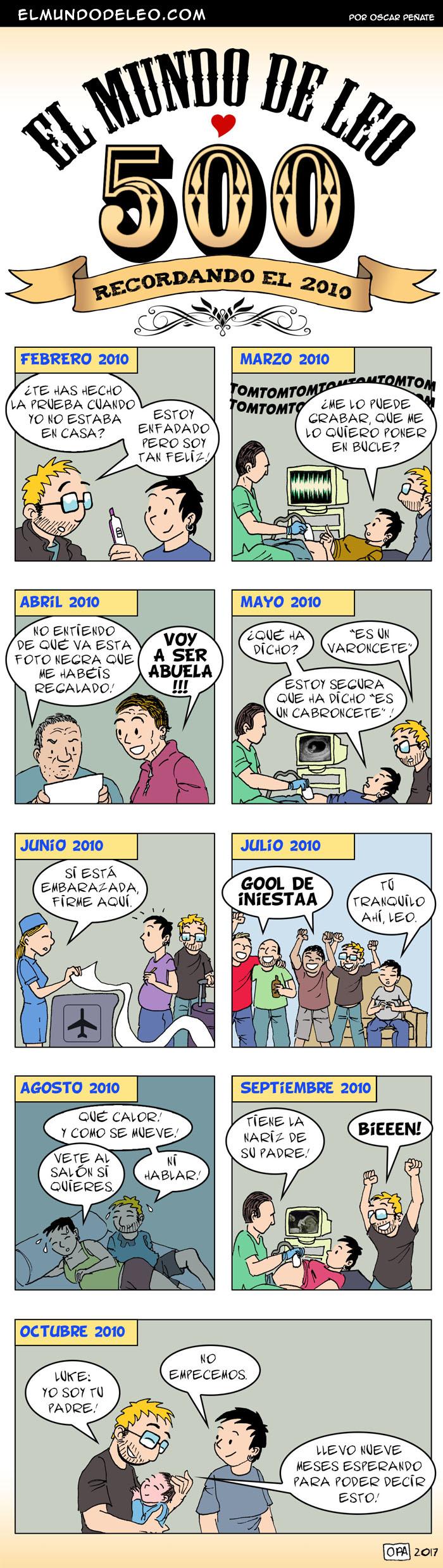 500: Recordando el 2010