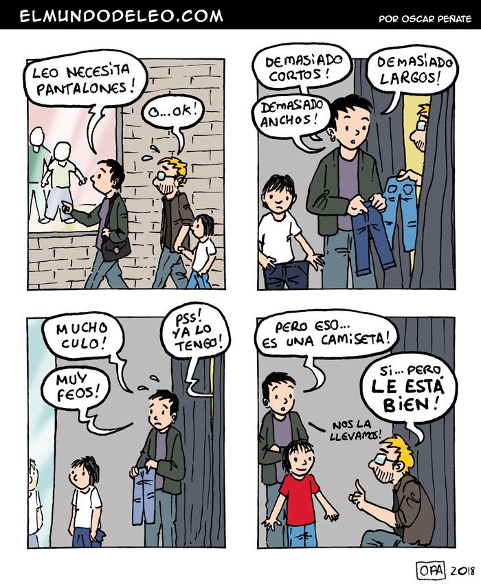 539: Tallas infantiles