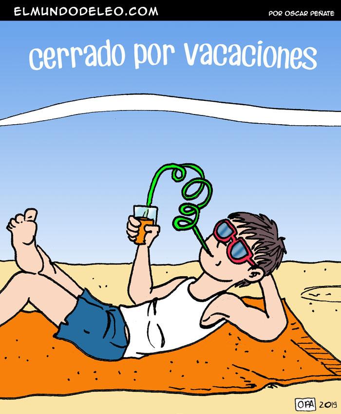 596: Cerrado por vacaciones